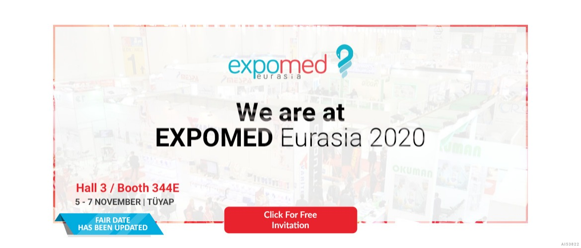 We are at Expomed Eurasia 2020