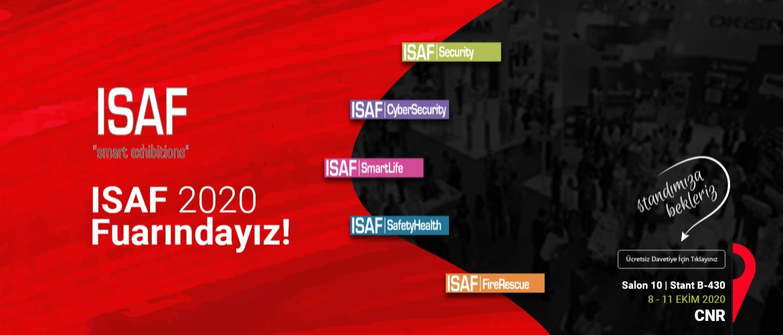 ISAF 2020 Fuarındayız!