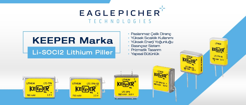 Keeper Marka Li-SOCI2 Lithium Piller
