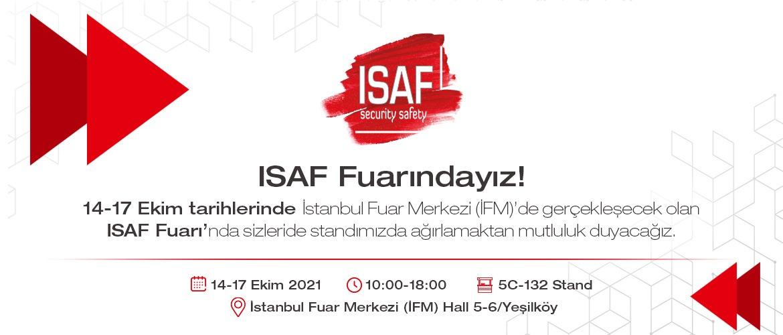 ISAF 2021 Fuarındayız!