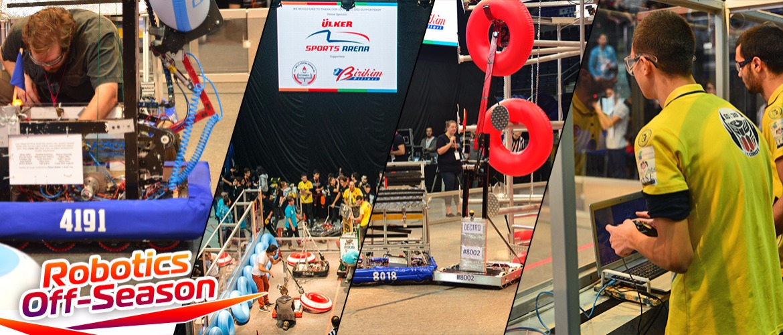 Oyunlar Başlasın! 2018 Turkish Robotics Off-Season