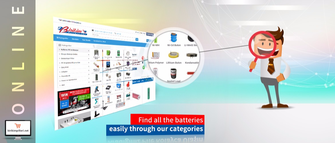 For online shopping, birikimbatteries,net