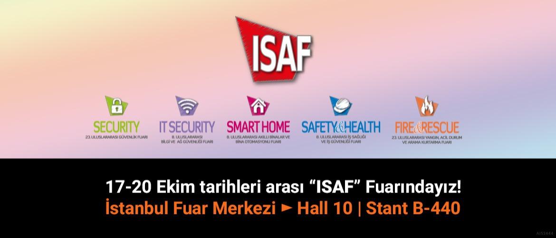 ISAF 2019 Fuarındayız
