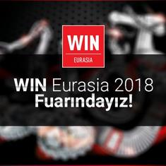 WIN Eurasia Automation 2018 Fuarındayız!