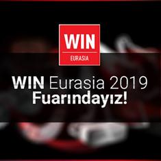 WIN Eurasia Automation 2019 Fuarındayız!