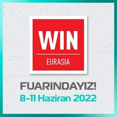 WIN Eurasia 2020 Fuarındayız!