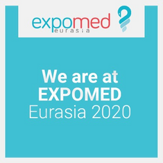 We are at Expomed Eurasia 2020 Fair!