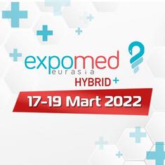 Expomed Eurasia Hybrid+ Fuarındayız!