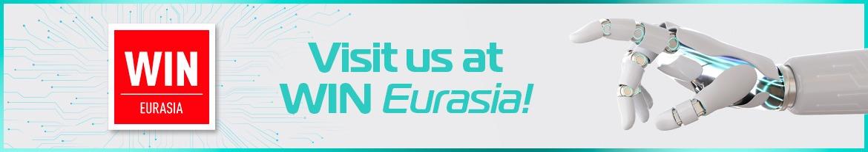 We are at WIN Eurasia 2020 Fair!